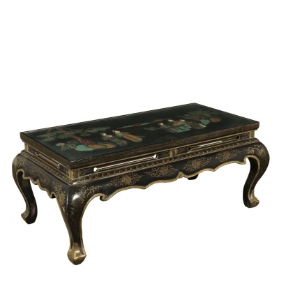 Coffee Table Chinoiserie Ornaments East 20th Century