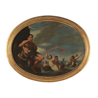 Polyphemus and Galatea Painting 18th Century