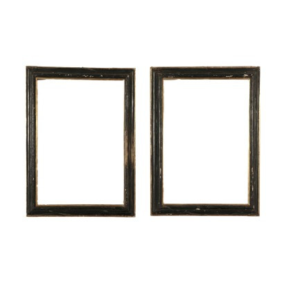 Pair of Frames Lime Wood Italy 17th Century