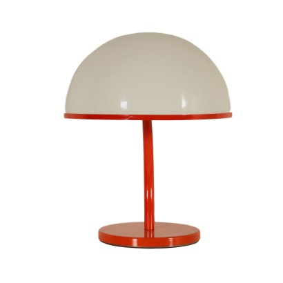 Table Lamp Metal Plexiglas Vintage Italy 1960s-1970s