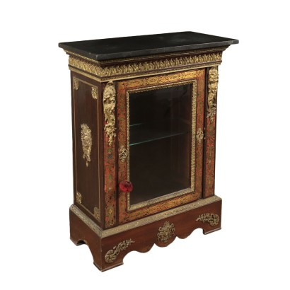 Napoleon III Glass Cabinet with Reserves France 19th Century