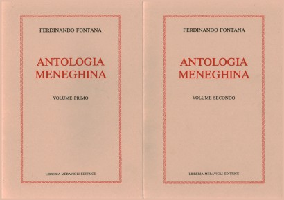 Antologia Meneghina (2 Volumi)