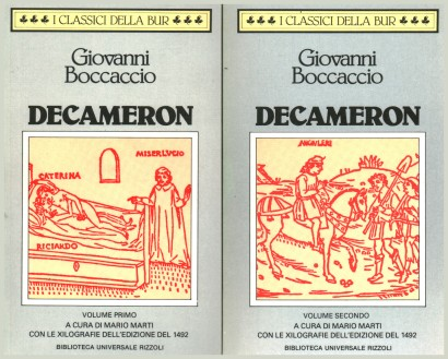 The Decameron (2 Volumes)