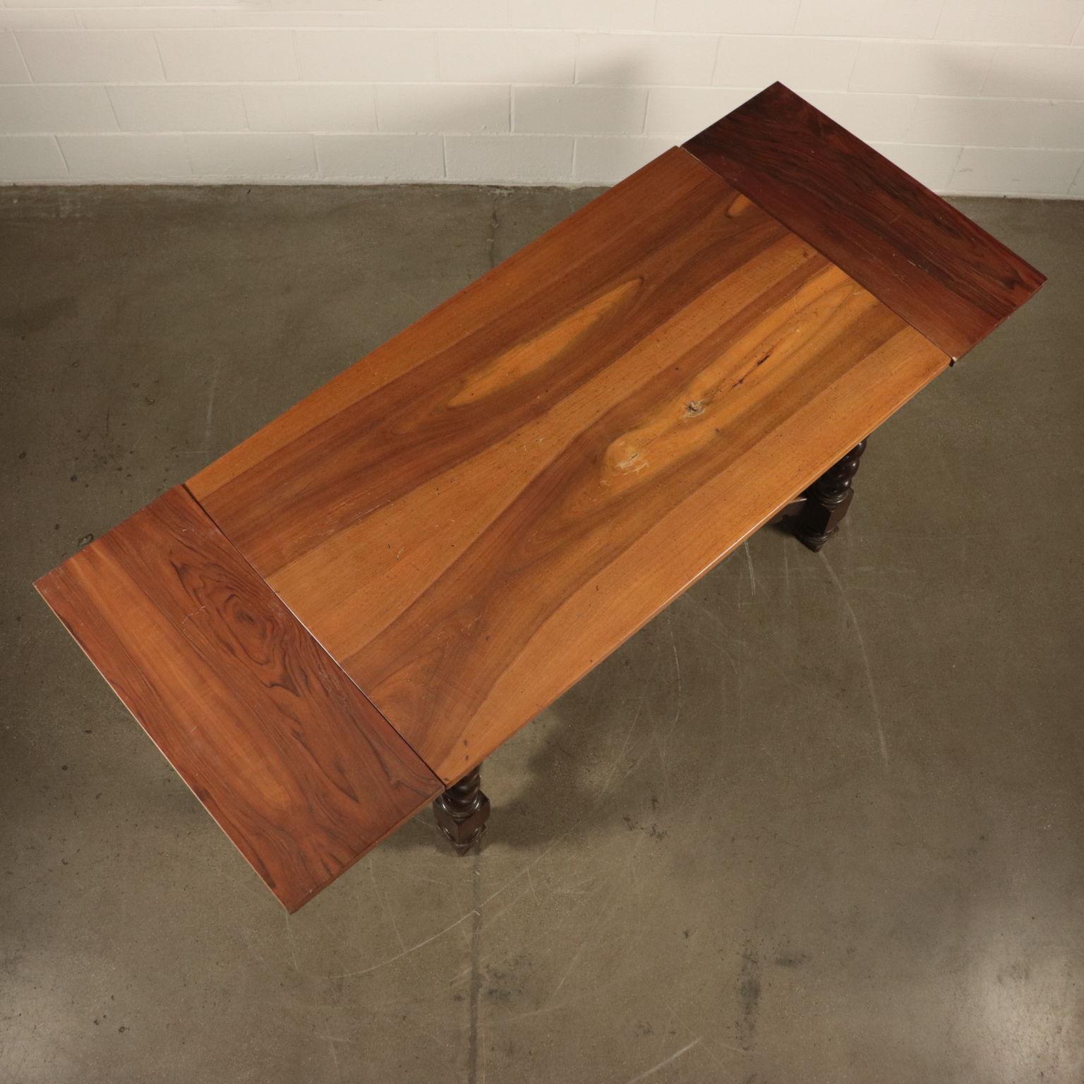Tavolo Con Gamba Centrale tavolo con gambe a torciglione - tavoli - antiquariato