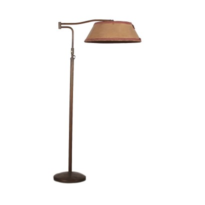 Floor Lamp with Lampshade Vintage Italy 1940s-1950s