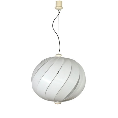 Alicante Ceiling Light Plastic Vintage Italy 1960s