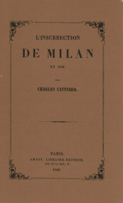 L'insurrection de Milan en 1848