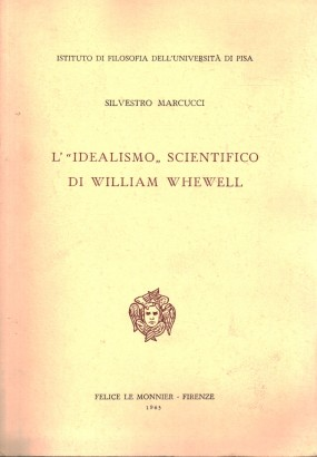 L'idealismo scientifico di William Whewell