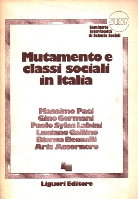 Change, and social classes in Italy