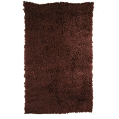 Vintage Shaggy Long-haired Rug 1970s-1980s