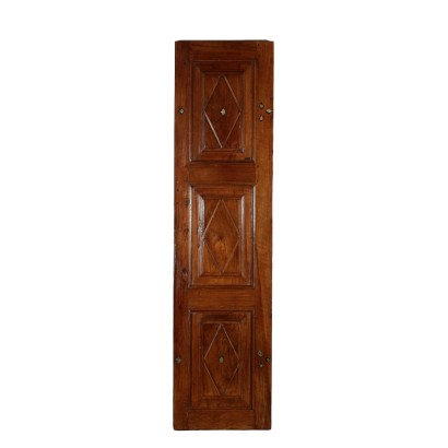 Antique Walnut Door Italy 18th Century