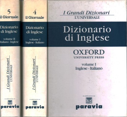 English dictionary (2 Volumes)