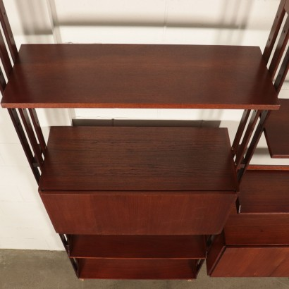 Bookcase in the style of Franco Albini Vintage Italy 1960s