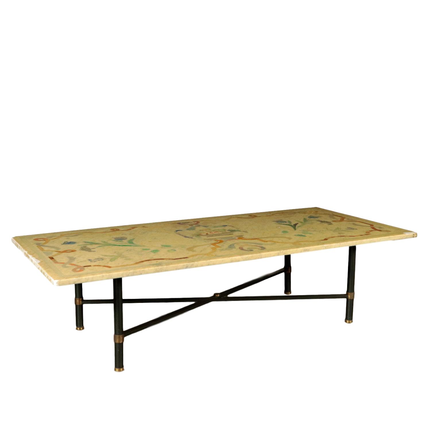 Tavolino Salotto In Stile.Tavolino Da Salotto Con Piano In Marmo