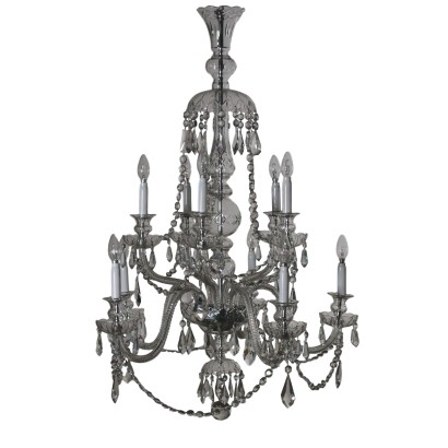 Crystal Chandelier Italy First Half of 1900s