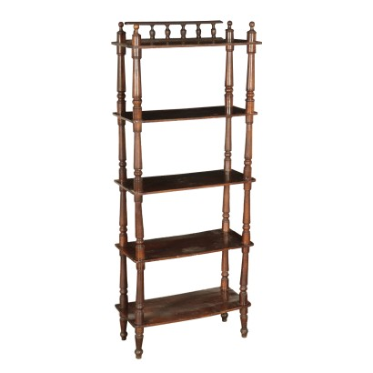 Shelving Unit Maple Italy Mid 19th Century