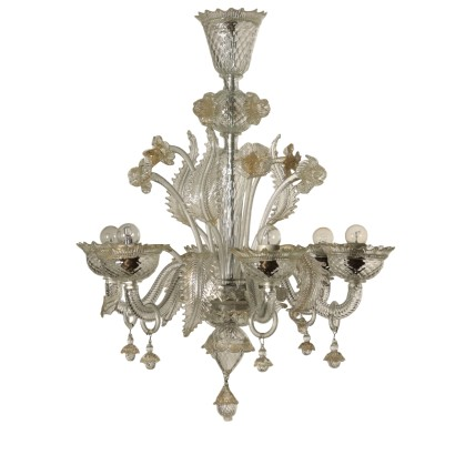 Chandelier Murano Glass Made in Italy 20th Century