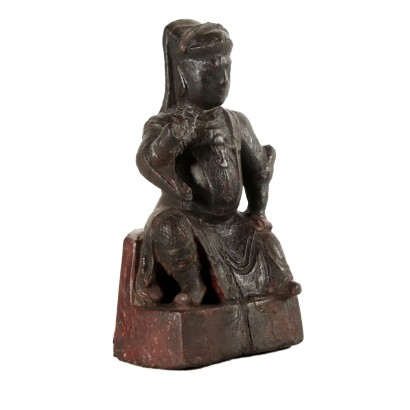 Wooden Statue Manufactured in China 18th Century