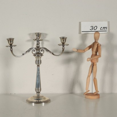 Candelabro in argento