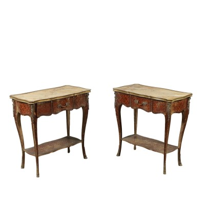 Pair of side Tables in Style