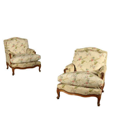 Pair of Armchairs in the Style of