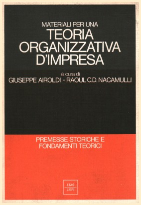 Materials for a Theory of organizational business
