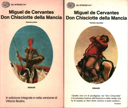 Don Quixote of la Mancha (2 volumes)