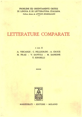 Letterature comparate