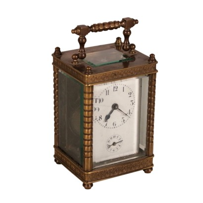 Bronze Carriage Clock 19th Century
