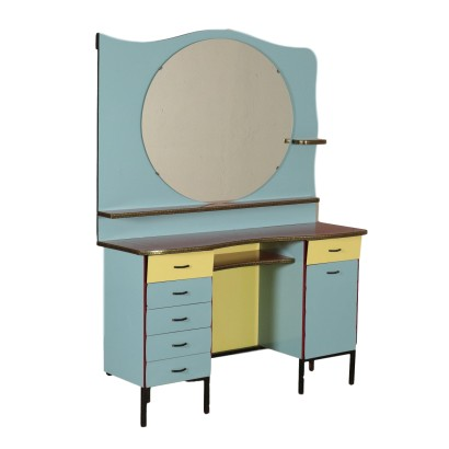 Vintage Barber Dressing Table Italy 1960's