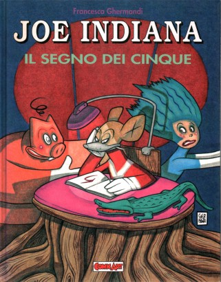Joe Indiana. The sign of the five