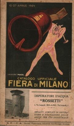 The official catalogue Fiera Milano, 12-27 April 1924