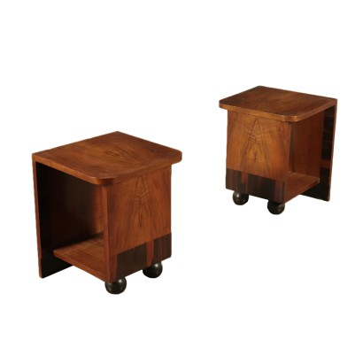Pair of Bedside tables Deco