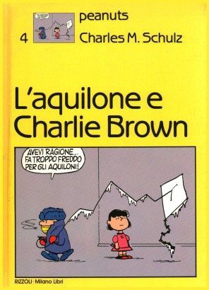 The kite and Charlie Brown