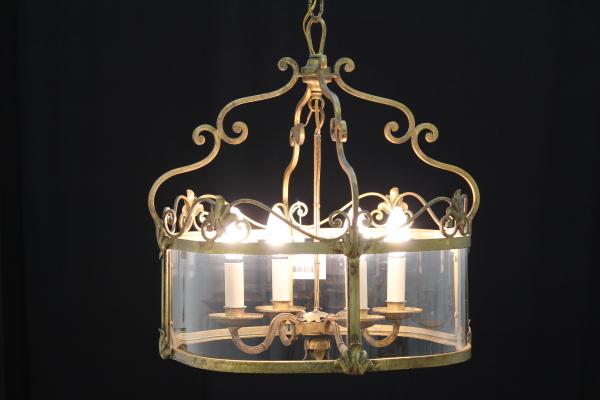 Lanterna Illuminazione : Lampadario tipo lanterna illuminazione bottega del 900