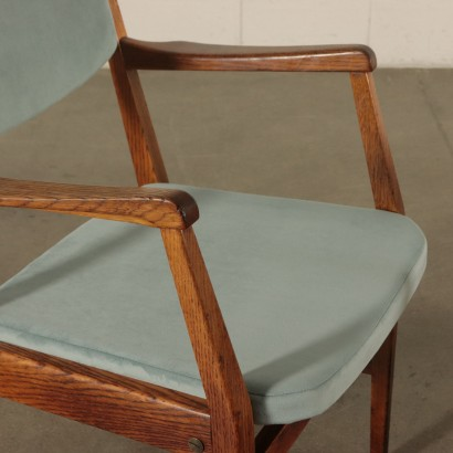 Vintage Pair of Chairs Italy 1950's