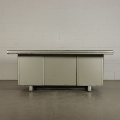 Vintage Formica and Metal Desk Italy 1960's