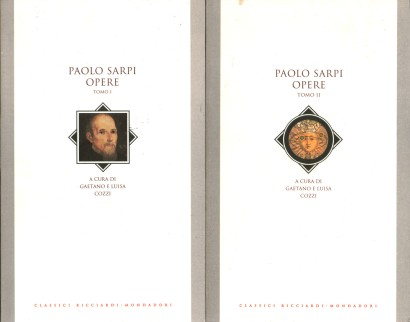 Paolo Sarpi: the works (2 volumes)