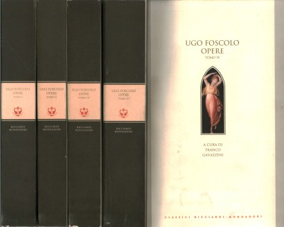 Ugo Foscolo: works (4 volumes)