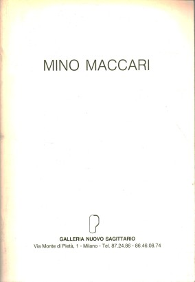 Selected works of Mino Maccari, from 1948 to 1988