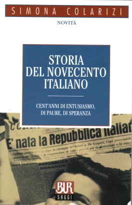 The history of Twentieth-century Italian
