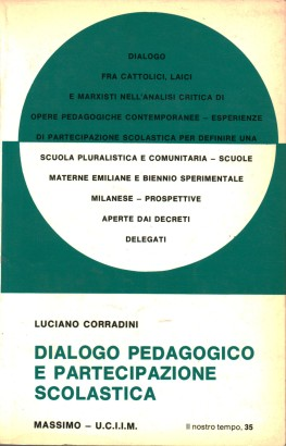 Dialogue pedagogical and school participation