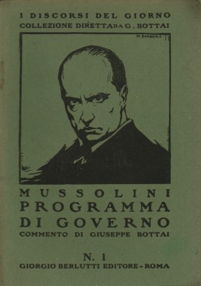 The Mussolini government program