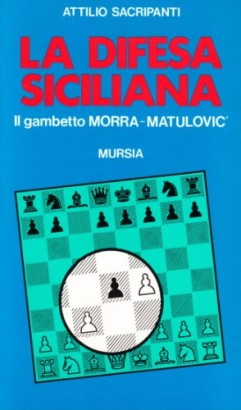 The sicilian defence.The queen's gambit Morra-Matulovic.