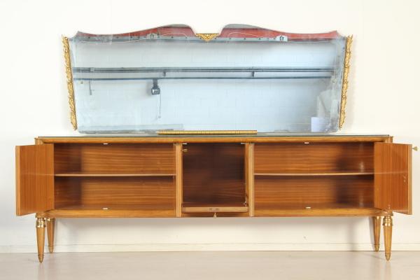 Buffet con specchio paolo buffa mobilio modernariato for Como con specchio anni 40