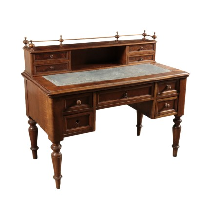Walnut Desk Italy 19th Century