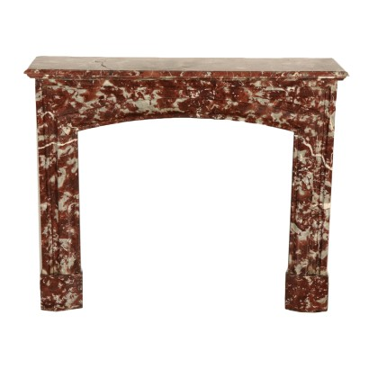 Marble Fireplace Mantel Italy 19th Century