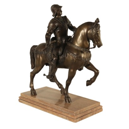 Bartolomeo Colleoni, bronze sculpture