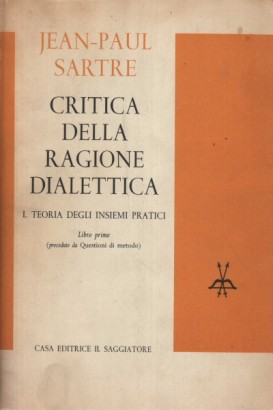The critique of reason dialectic. The book first