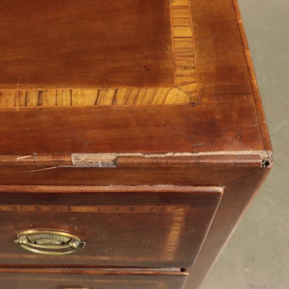 Ches of Drawers walnut Cherry and Olive Italy 18th Century